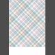 Fresh Start Journal Card- Plaid 4x6