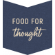 Cozy Kitchen Food for Thought Word Art