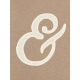 Pocket Basics Kraft - Ampersand Journal Card