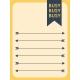Work Day Journal Cards- Arrow List w/ Text
