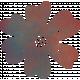 Bohemian Breeze Painty Bits- Flower 5