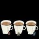 Autumn Day Word Art- Teacups with Steam