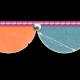 Half Circle Banner Border- Template