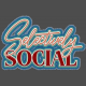 Selectively Social Denim Sticker
