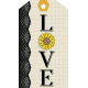Love Sunflower Tag