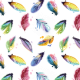 Feather Pattern Transparent 01