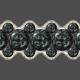 Black Pearl Affair Ribbon 3-strand Wide 2(1)