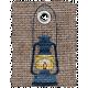 Burlap Camping Tag - Lantern