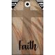 Faith, Family, Freedom Tag Set- Faith