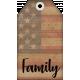 Faith, Family, Freedom Tag Set- Family