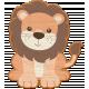 Noah's Ark Wooden Lion