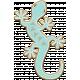 Sedona Sunrise- chipboard Lizard