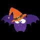 Happy Halloween - Bat #3