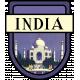 India Word Art Crest