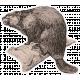 Beaver Canada Sticker Element