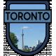 Toronto Word Art Crest