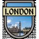 London Word Art Crest