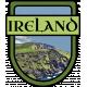 Ireland Word Art Crest