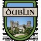 Dublin Word Art Crest