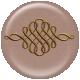 Brown Ornament Flair