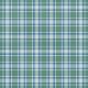 Green Blue Plaid DRetire Paper