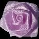 Pink Fabric Rosebud