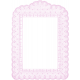 Antique Paper Lace Frame 7- Pink
