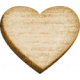 Spread Your Wings- Wood Heart Tiny