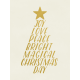 Christmas Day- JC Words Gold White 3x4