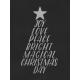 Christmas Day- JC Words Silver Black 3x4