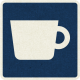 Picnic Day_Pictograph Chip_Dark Blue_Cup