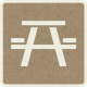 Picnic Day_Pictogram Chip_Brown_Picnic Table