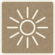 Picnic Day_Pictogram Chip_Brown_Sun