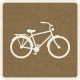 Picnic Day_Pictogram Chip_Brown Dark_Bicycle
