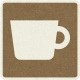 Picnic Day_Pictogram Chip_Brown Dark_Cup