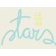 Dream Big- Journal Card- Stars