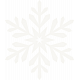 Winter Wonderland Snow - Vellum Snowflake1