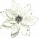 Winter Wonderland Snow- Poinsettia White