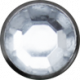 Winter Wonderland Snow - Button Silver