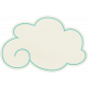 Love At First Sight- Sticker Cloud Turquoise