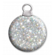 Holographic glitter bauble