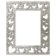 Silver Multi-Hearts Frame