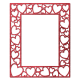 Red Multi-Hearts Frame