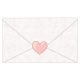 Envelope Sealed With Heart