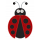 Fabric Ladybug