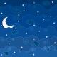 Paper – Cartoon sky (1/4): Night