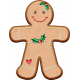 Xmas 2016: Gingergirl Cookie 01