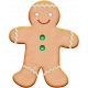 Xmas 2016: Gingerbread Man Cookie 01