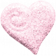 All About Hearts 2017: Button Heart 02, Pink