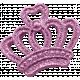 October 2020 Blog Train: Stonewashed Denim, Glitter Crown, Pink 01